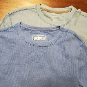 Urban Pipeline and Old Navy thermal shirts medium